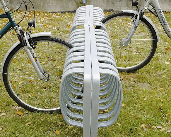 Fahrradständer TOUR, doppelseitig, zum Einbetonieren