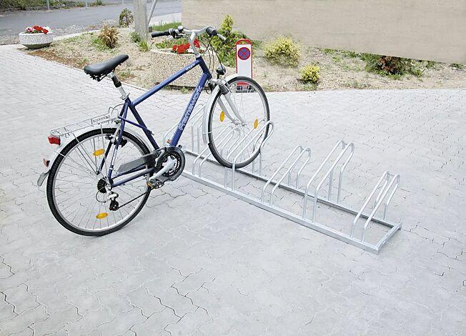 Fahrradständer UNIVERSAL, 90°-Einstellung, 6 Stellplätze