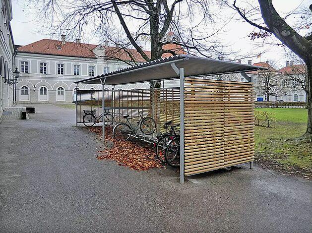Fahrradüberdachung BWA bausystem®