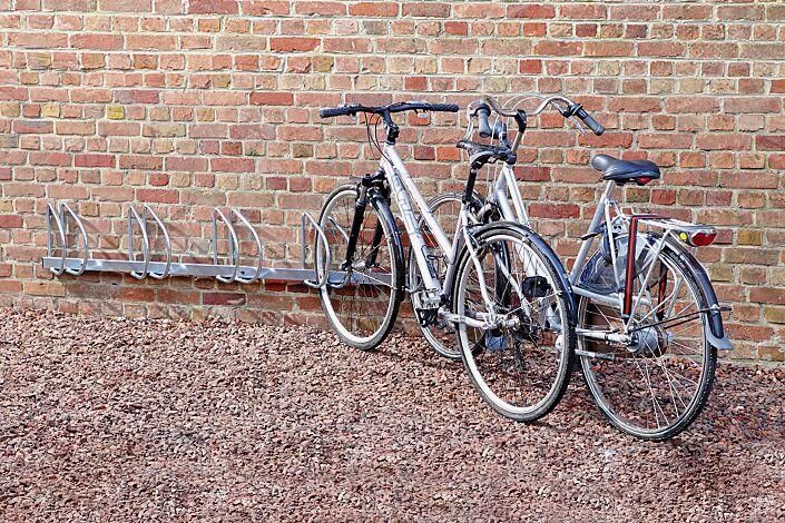 Fahrradwandhalter PRAG, 45° rechts