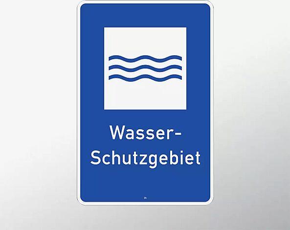 Hinweisschild: Wasserschutzgebiet