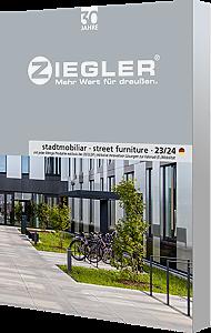"ZIEGLER-Katalog ""street furniture 2021"""