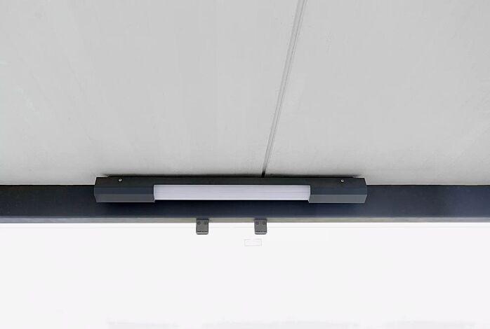 """<div id=""""container"""" class=""""container"""">LED-Decken- / Wandleuchte, ohne Bewegungsmelder, Länge 800 mm</div>"""
