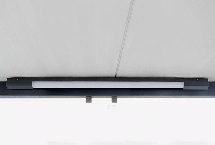 """<div id=""""container"""" class=""""container"""">LED-Decken- / Wandleuchte, ohne Bewegungsmelder, Länge 1400 mm</div>"""