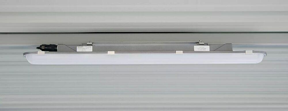 Ein- / Aufbauwannenleuchte mit LED