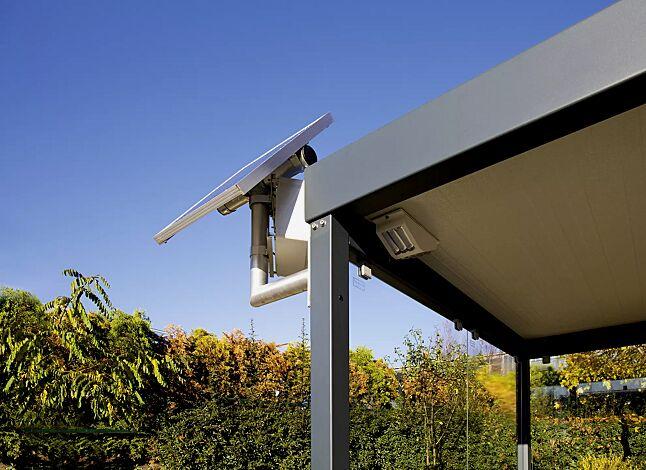 LED-Solar-Wartehallenbeleuchtung KLSS
