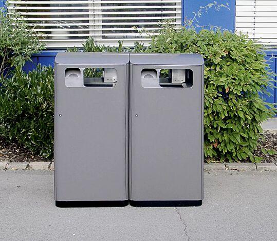 """<div id=""""container"""" class=""""container"""">Müllbehälterschrank DENTON mit Ascher</div>"""