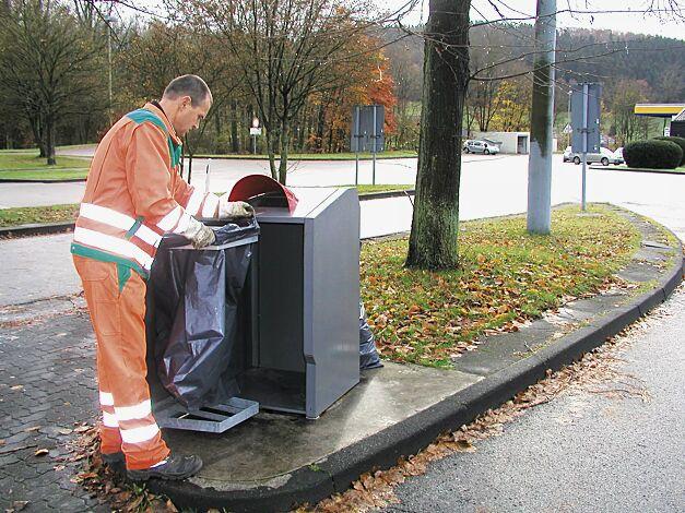 Müllbehälterschrank MARGATE mit Abfallsackhalterung (Zubehör)