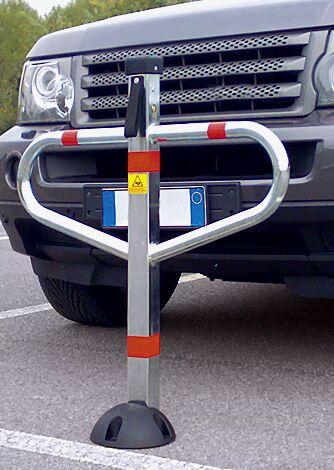 Parkbügel BELUS aus Stahl, galvanisch verzinkt