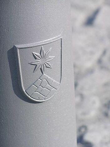 Detail: Stadtwappen