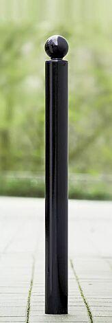 Poller KUGEL I in RAL 7021 schwarzgrau