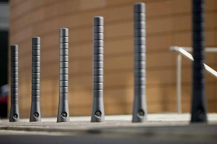 Poller TARANIS, zehn Rillen, mit 3p-Technologie, konisch, in DB 703 eisenglimmer