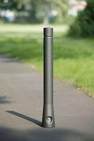 Poller TARANIS, eine Rille, mit 3p-Technologie, konisch, in DB 703 eisenglimmer