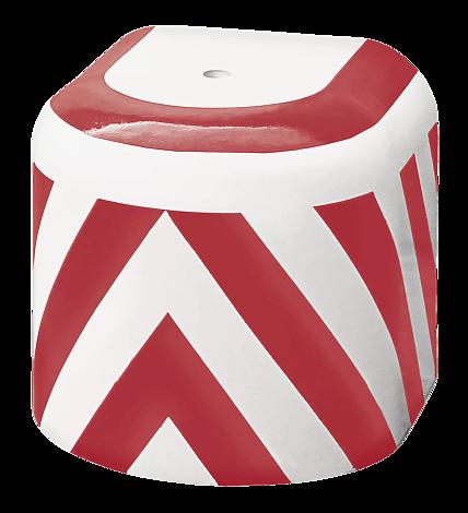Radabweiser EVOL in rot-weiß