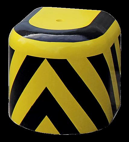 Radabweiser EVOL in gelb-schwarz