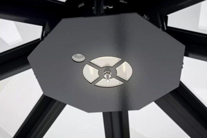 LED-Einbauleuchte mit Bewegungsmelder für Modell AQUARIUS