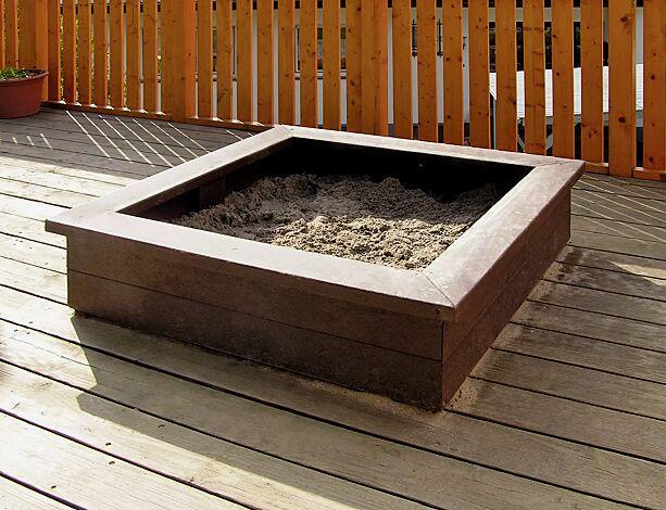 Sandkasten PITTIPLATSCH aus Recyclingkunststoff
