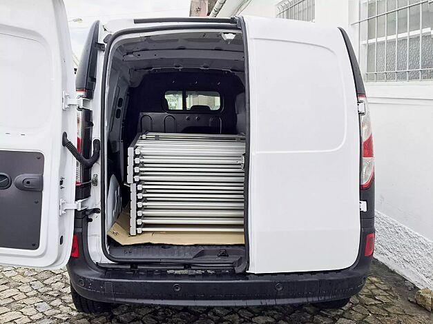 platzsparende Lagerung und leichter Transport