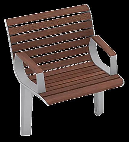 """<div id=""""container"""" class=""""container"""">Sitz EMAU SOLO mit Rückenlehne und Armlehnen, mit Jatobaholzbelattung</div>"""