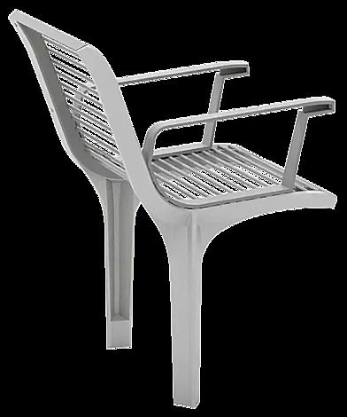 """<div id=""""container"""" class=""""container"""">Senioren-Sitz EMAU SOLO mit Rückenlehne und Armlehnen, Stahlteile in RAL 9007 graualuminium</div>"""