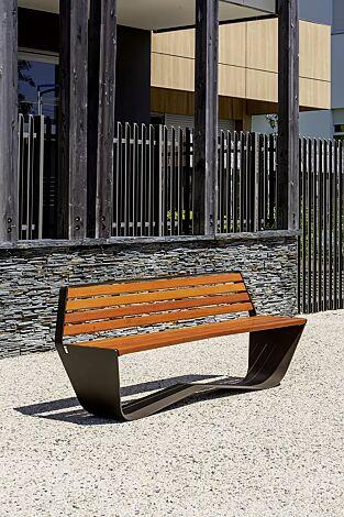Sitzbank KARMA mit Rückenlehne
