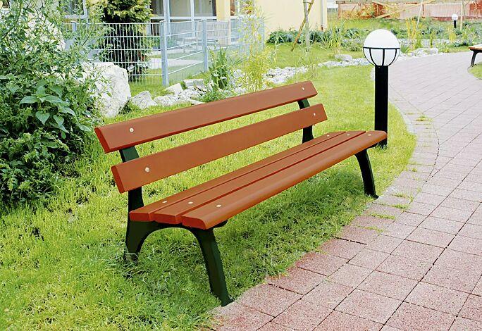 Sitzbank ROMA mit Holzbelattung Fichte