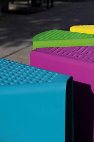 Sitz SINUS gebogen, in Sonderfarben (auf Anfrage)