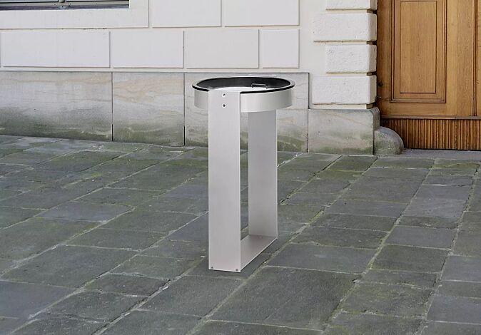 """<div id=""""container"""" class=""""container"""">Standascher MOROKA, rund, ohne Posterhalter</div>"""