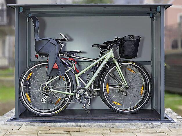 Unterflur-Müllbehälterschrank HIDEOUT auch z. B. für Fahrräder geeignet