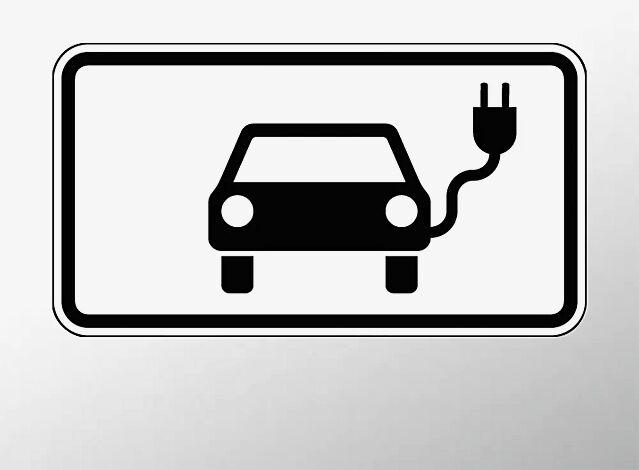 Verkehrszeichen: Elektrisch betriebene Fahrzeuge