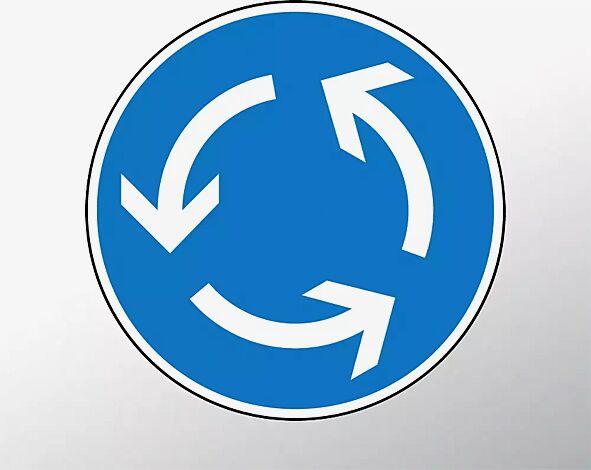 Verkehrszeichen: Kreisverkehr