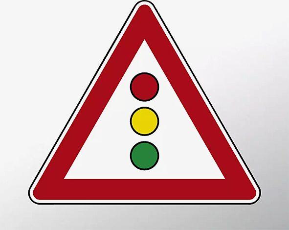 Verkehrszeichen: Lichtzeichenanlage