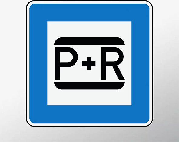 Verkehrszeichen: Parken und Reisen