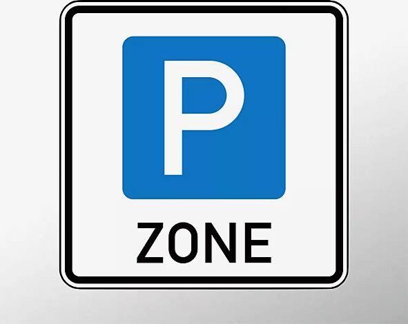 """<div id=""""container"""" class=""""container"""">Verkehrszeichen: Beginn einer Parkraumbewirtschaftungszone</div>"""