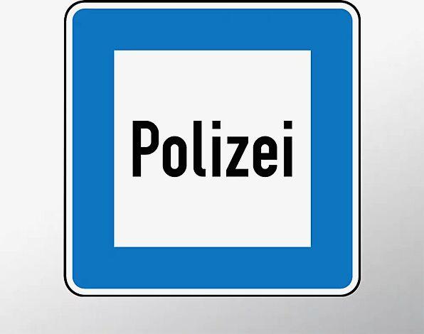 Verkehrszeichen: Polizei