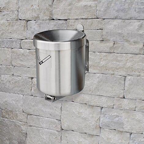 Wandascher GLASGOW, 2,4 Liter, aus Edelstahl