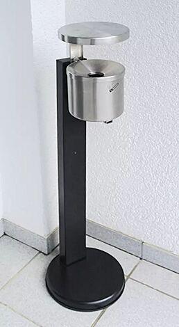 Ascher GLASGOW, 2,4 Liter, aus Edelstahl, mit Schutzdach und Standfuß zum freien Aufstellen (Zubehör)