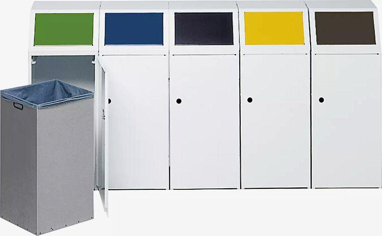 Wertstoffsammelstation bestehend aus 5 Einzelwertstoffsammlern LIVERPOOL